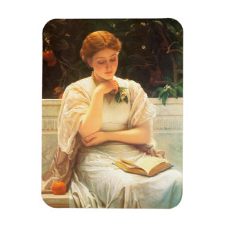 A Girl Reading Magnet