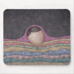 A Girl Under A Thousand Blankets Mouse Pad