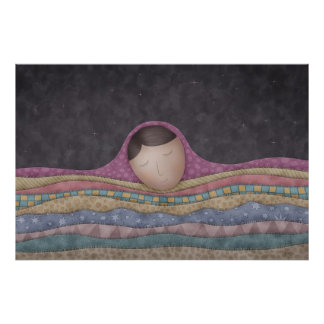 A Girl Under A Thousand Blankets Poster