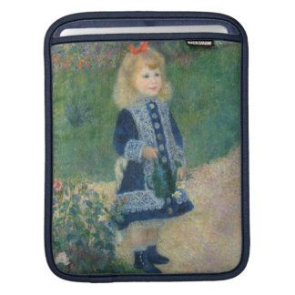 A Girl with a Watering Can, 1876 (oil on canvas) Sleeve For iPads