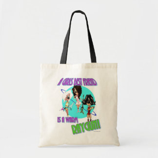 A Girls Best Friend Canvas Bag