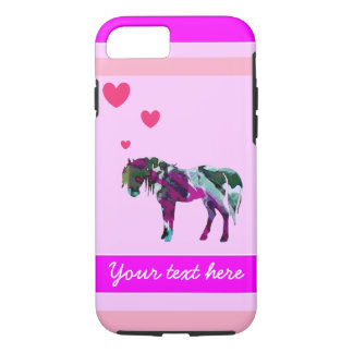 A Girls Pony iPhone 7 Case