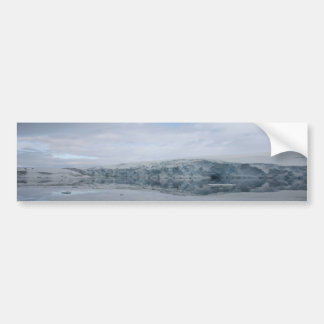A GLACIER as viewed from the Palmer station. Car Bumper Sticker
