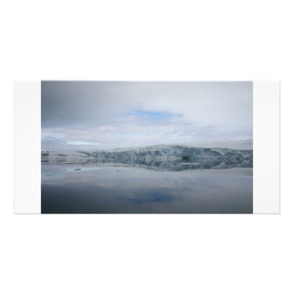 A GLACIER as viewed from the Palmer station. Photo Card Template