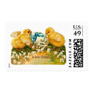 A Glad Eastertide Postage Stamp