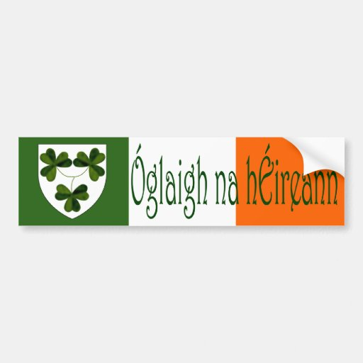 Óglaigh na hÉireann Bumper Stickers