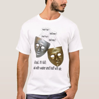 A Glass Half Masked T-Shirt