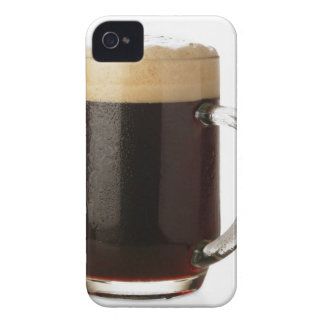 A glass of dark beer iPhone 4 Case-Mate cases