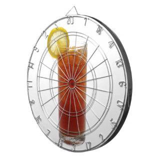 A Glass of Iced Tea Dart Board