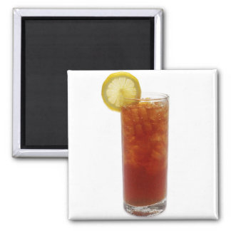 A Glass of Iced Tea Magnet