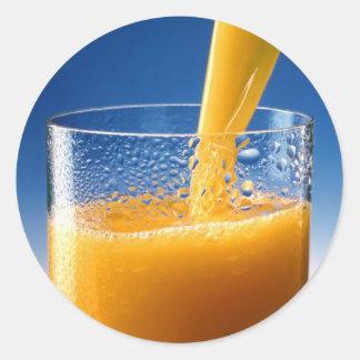 A Glass of Orange Juice Sticker