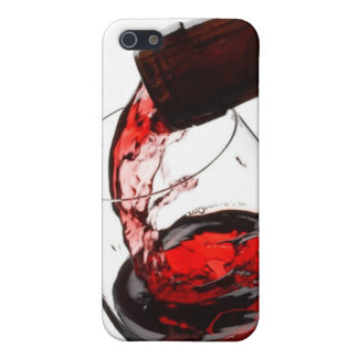 A Glass of Red Wine Cover For iPhone 5