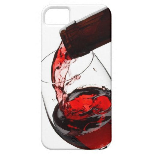 A Glass of Red Wine iPhone SE/5/5s Case