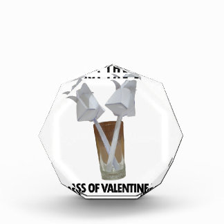 A glass of valentine peace. award