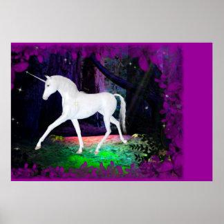 A Glimpse of a Unicorn Design 2 - Print