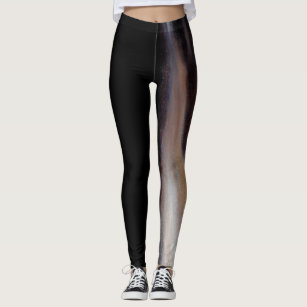 a929742ee13 A Glimpse of Blue Abstract Dance Leggings