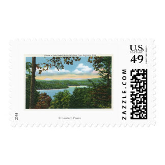A Glimpse of Lake Garfield Postage