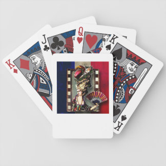 A Glimpse Of Marie Antoinette playing cards