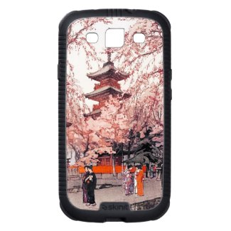 A Glimpse of Ueno Park Hiroshi Yoshida art Galaxy SIII Case