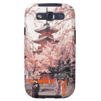 A Glimpse of Ueno Park Hiroshi Yoshida art Samsung Galaxy SIII Cases