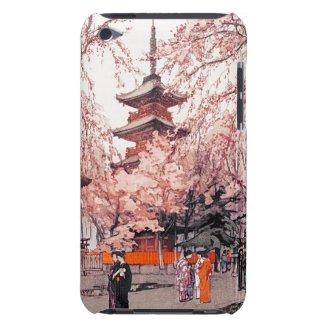 A Glimpse of Ueno Park Hiroshi Yoshida art iPod Touch Cases