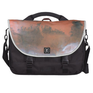 A Global Mars Map Laptop Bag