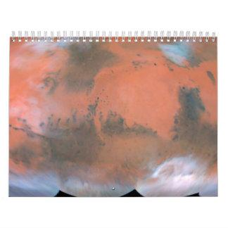 A Global Mars Map Calendar