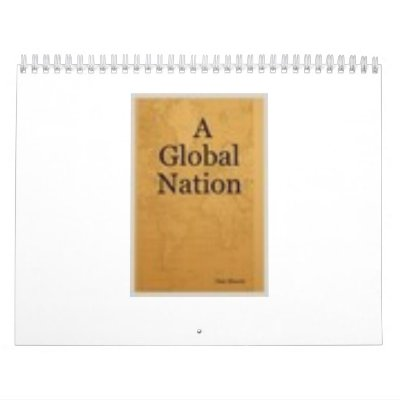 A Global Nation Wall Calendar