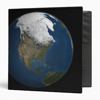 A global view over North America Binders