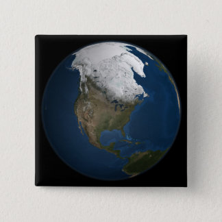 A global view over North America Button