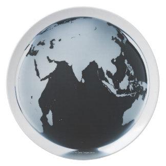 A globe 2 plate