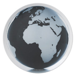 A globe plates