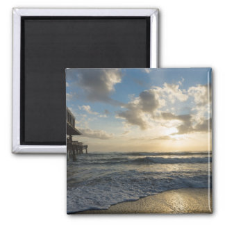 A Glorious Beach Morning Magnet