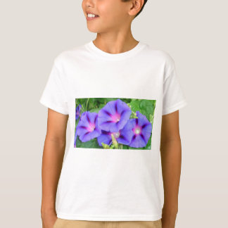 A Glorious Collection of Purple Ipomoea T-Shirt