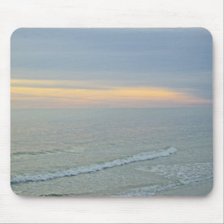 A Glorious Sunset On The Beach Mouse Pad