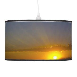 A Glorious Sunset x 2 Hanging Lamp