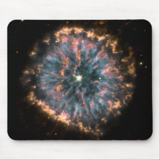 A Glowing Celestial Eye, Known As NGC6751 Mouse Pad