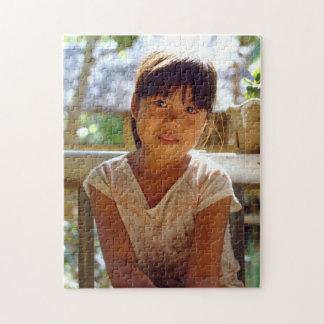A Glowing Portrait Jigsaw Puzzle