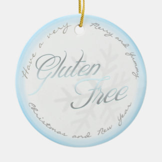 A Gluten Free Ornament - For the Snowflake Tree