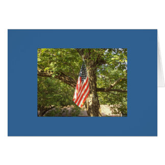 A Go Green USA Greeting Cards