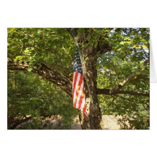 A Go Green USA Greeting Card