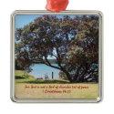 A God of Peace (1 Corinthians 14:33) Christmas Tree Ornament