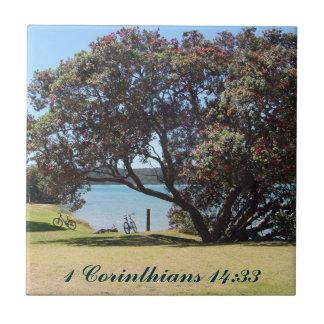A God of Peace  (1 Corinthians 14:33) Tiles
