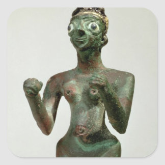A Goddess of Mari, Early Dynastic Period, c.25th-2 Square Sticker