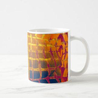 A golden cage coffee mug