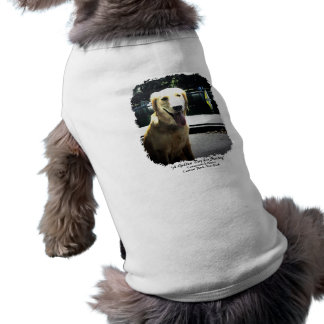 A Golden Day for Sailing Dog T-shirt