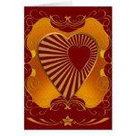 A Golden Heart Cards