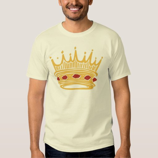 A Golden King's Crown With Jewels T-shirt