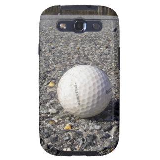 A golf Ball resting on gravel Galaxy SIII Case