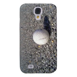 A golf Ball resting on gravel Samsung Galaxy S4 Case